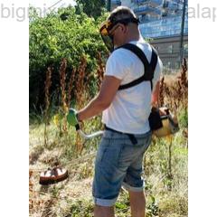 Arcvédő pajzs használata kerti munka közben (84526)