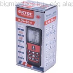 EXTOL PREMIUM digitális lézeres távolságmérő, 40m (8820042)