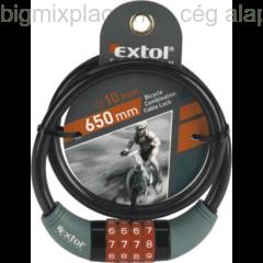 Számzáras kerékpárzár, Extol Premium