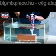 Tytan Fix2 GT szerelési ragasztó, erős kötést hoz létre még a víz alatt is