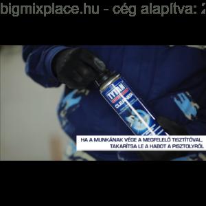 TYTAN Cleaner purhab tisztító spray: pisztoly tisztítása 1 (Forrás: Youtube - Tytan))