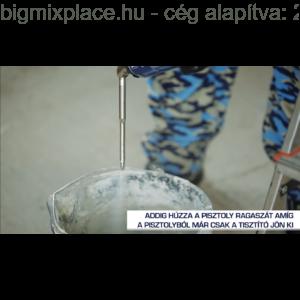 TYTAN Cleaner purhab tisztító spray: pisztoly tisztítása  4 (Forrás: Youtube - Tytan)