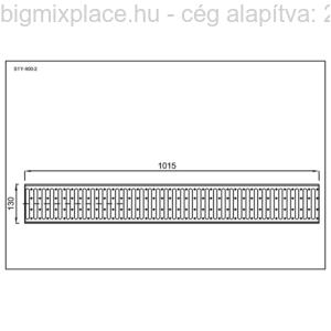Folyókarács szerkezeti ábra (STY-900-2)