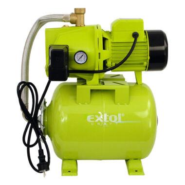 EXTOL CRAFT házi vízmű, rozsdamentes tengely és noryl lapátok, 750W