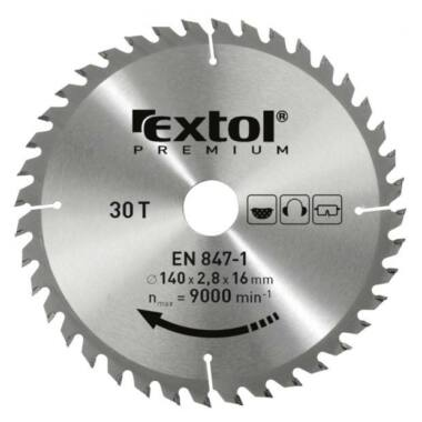 EXTOL PREMIUM körfűrészlap, 3,2mm lapkaszél, 6500 fordulat
