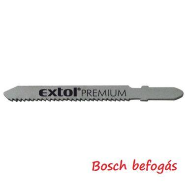 EXTOL PREMIUM dekopírlap fémre, 5db, Bosch befogás