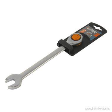 EXTOL PREMIUM racsnis csillag-villás kulcs, 19mm