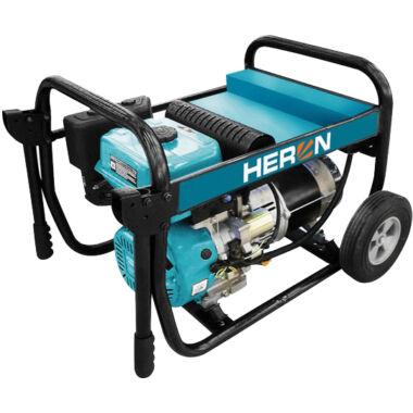 HERON EGI 68 benzinmotoros áramfejlesztő, egyfázísú, hordozható