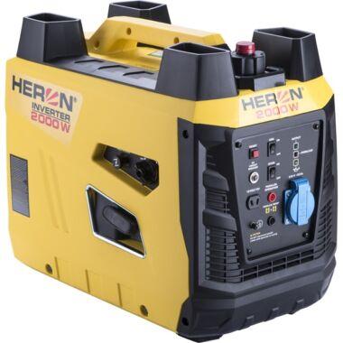 HERON digitális szabályzású benzinmotoros áramfejlesztő, 2 kVA, 230V