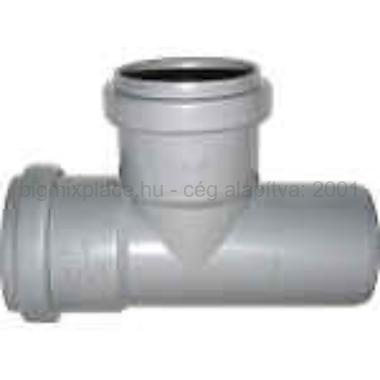 PVC T-idom 32/3290° szennyvíz lefolyócsőhöz