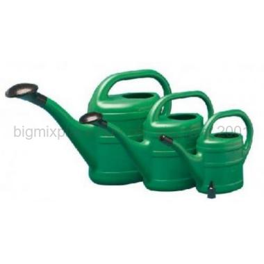 8 literes műanyag öntőző kanna, zöld