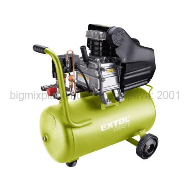EXTOL CRAFT légkompresszor olajos, 1100W (418201)
