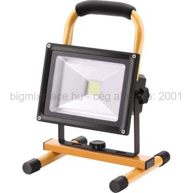 EXTOL LIGHT hordozható LED lámpa (reflektor), két fényerő fokozattal, max. 20W, 1400lumen