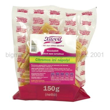 XILOVIT nápolyi szelet, citromos, 150g, xilittel édesítve