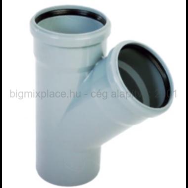 PVC ág 32/32/45 szennyvíz lefolyócsőhöz