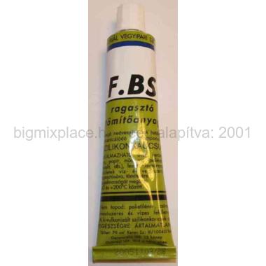 FBS univerzális szilikon ragasztó, tömítőpaszta, tubusos, 70ml