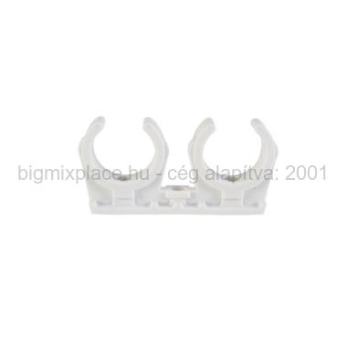 STYRON Rézcsőbilincs, dupla, 28mm