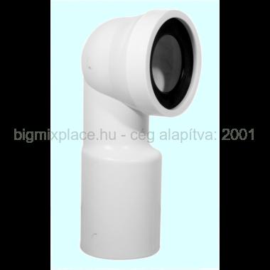 STYRON WC bekötő könyök 110mm (STY-530-110)