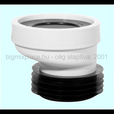 STYRONWC lefolyó csatlakozó 20mm-es excentritással (STY-530-20)