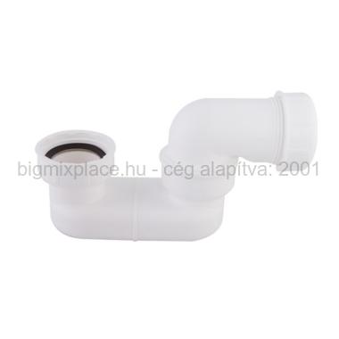STYRON kád és zuhanyszifon, lapos, 6/4col, 40mm (STY-536-3)