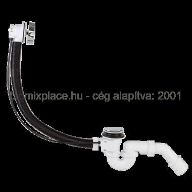 STYRON automata kádszifon, krómozott, 53cm hosszú bowdennel (STY-536-A-K)