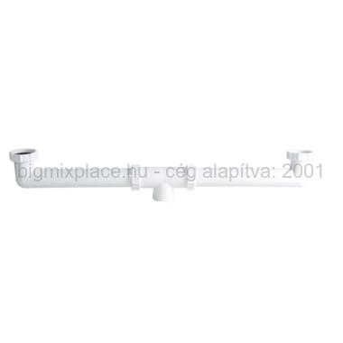 STYRON kétmedencés összekötő, mosogató búraszifon leeresztő nélkül (STY-539-4)
