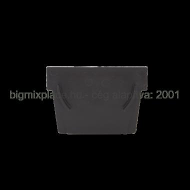 STYRON folyóka végzáró elem, műanyag (STY-902)